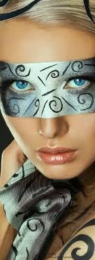 beautiful mask masquerade ball makeup art headdress painted faces mysterious fashion photography opera body art