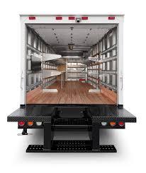 box truck shelving ideas morgan corporation truck cargo interior options