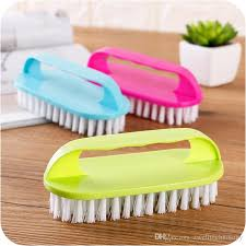 2019 household plastic cleaning brush with handle clothing brush with strong cleaning power scrubber for floor or bathtub from zwelltechnology