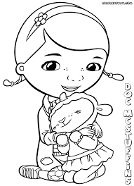 First Class Doc Mcstuffins Coloring Pages Sheets Seatle Davidjoel Co