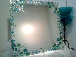 diy mirror frame ideas mirror frame ideas mirror design idea decorating the edge with gems instead diy mirror frame ideas