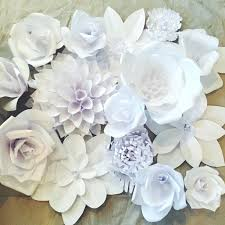 White Paper Flower Garland How To Make Paper Flower Garland For Wedding Flowers Healthy