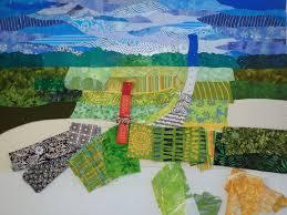 Ellen Lindner: Art & Creativity » Blog Archive » Farm Quilt ... & Ellen Lindner farm quilt in-progress. AdventureQuilter.com Adamdwight.com