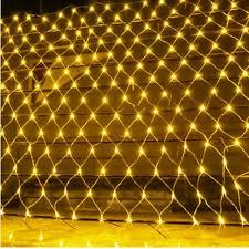 Led Net Lights 3m X 2m 96 200 Led Fairy Net Mesh Curtain String Lights Xmas Wedding Party Decor Outdoor