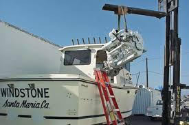 the repowering of this 25 foot farallon involved a total reconstruction of the boat from