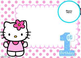 invitation card hello kitty hello kitty party invitations also hello kitty birthday party
