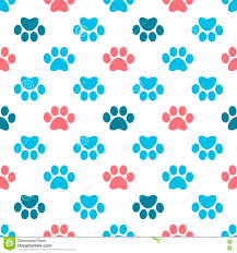 Paw Print Pattern Awesome Decorating