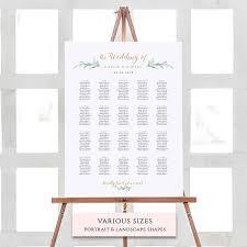 Wedding Seating Plan Chart Wedding Seating Plan Chart Template Wedding Table Plan Template