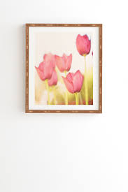 tulip framed wall art