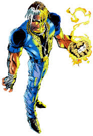 our hero wakes up in the slave pens but escapes with the help of cyclops he later joins the outcasts which consist of toad sauron mastermind brute