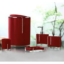 red glass bathroom accessories. Save Red Glass Bathroom Accessories