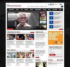 Website Template Newspaper 50 Beautiful Free And Premium Psd Website Templates And