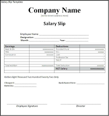 Download Payslip Template Mesmerizing 48 Blank Wage Slip Template Excel Uk Free Payslip Word Salary Awe