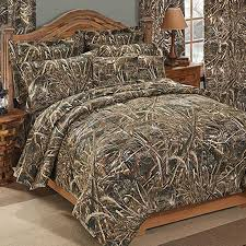realtree max 5 camouflage comforter sham set queen size