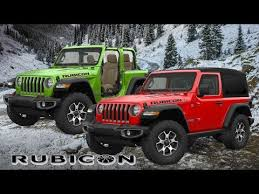 all new jeep wrangler rubicon 2019 2 door color options