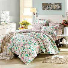 fascinating white bedroom interior with beautiful spring ikea bed in a bag bedding set near windows