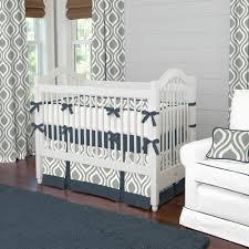 navy blue crib bedding