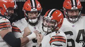 browns beat steelers 48 37 in wild card