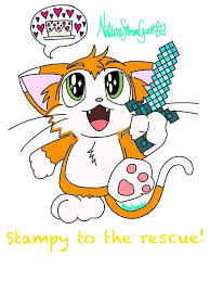 Small Picture Stampy Cat In Coloring Pages glumme