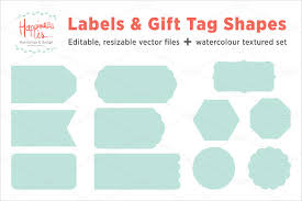 Tags For Gifts Templates Gift Tag Template 27 Free Printable Vector Eps Psd Ai