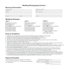 Wedding Photography Contract Form Simple Wedding Photography Contract Template Beautiful Subscription