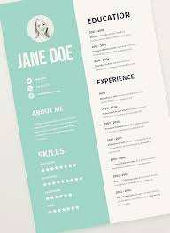 Well Done Free Cv Resume Psd Templates Mockups Mooxidesign Com