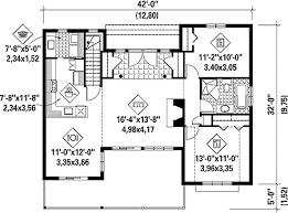 simple house plans. simple house plan with stunning views - 80642pm floor main level plans