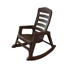 adams mfg corp earth brown resin stackable patio rocking chair resin rocking chairs19