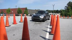 image of a car on a road test