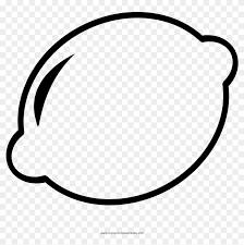 Lemon Coloring Page Limone Disegni Da Colorare Free Transparent