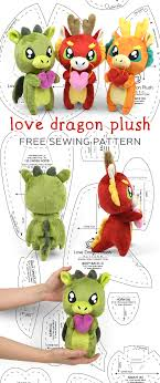 Dragon Pattern Cool Free Pattern Friday Love Dragon Plush Choly Knight