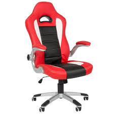 red office chairs. Red Office Chairs. Executive Chair Pu Leather Racing Style Bucket Desk Seat - Chairs F