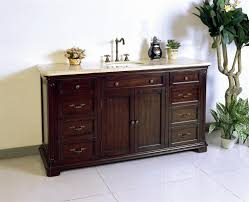 60 Inch Single Sink Vanity Cabinet Gray Bathroom Wsiprofiteamcom