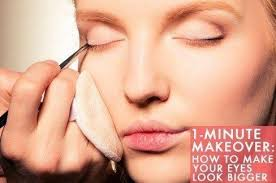 1 minute makeover how to make your eyes look bigger