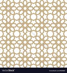 Arabic Patterns Beauteous Arabic Pattern Royalty Free Vector Image VectorStock