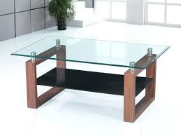 solid wood glass top rectangular coffee table in espresso small round tables and dark manchester display