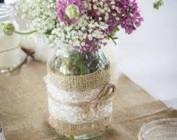 Mason Jars Decorated With Twine Twine mason jar Etsy 42