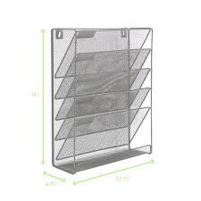 mind reader mesh 6 pocket desk