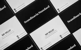 Cheap Business Cards In Denmark Scandinavia Standard