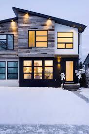 Contemporary Exterior Design Photos Black Windows And Black - Exterior windows