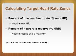 calculating target heart rate zones