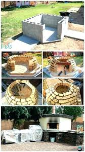 diy brick oven pizza brick oven outdoor pizza oven concrete wood fired pizza oven instructions outdoor