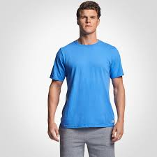 Mens Cotton Performance T Shirt Russell Athletic