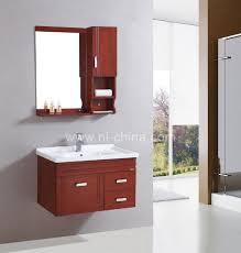 sliding bathroom mirror: nature melamine laminated small sliding door bathroom mirror cabinet b