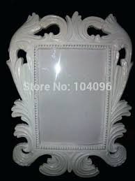 white baroque picture frames big size photo frame wedding place card holder in box 8x10