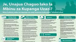 Family Planning Wall Chart Family Planning Choices Wall Chart Swahili Afya Uzazi
