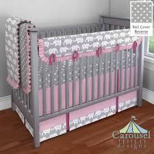 nursery beddings pink and gray elephant crib bedding set togeth on blankets swaddlings pink elephant crib