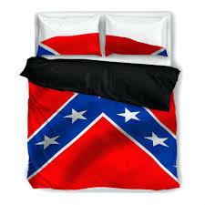 confederate flag duvet bedding set american uk cover king