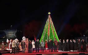 Christmas Lights Kearns Digico Sparkles At Americas Christmas Tree Lighting