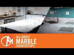 all about marble countertops